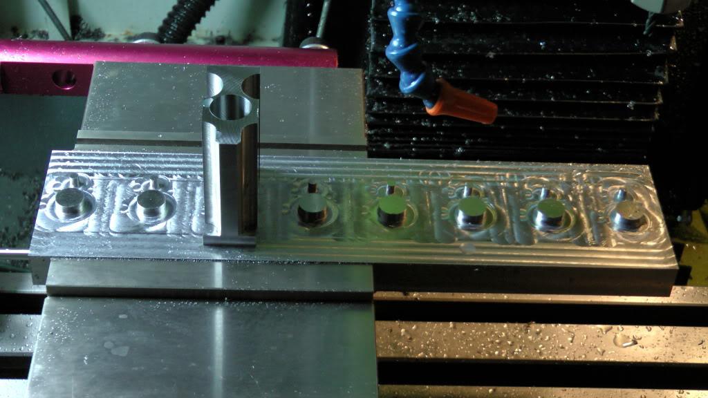 Cnc Drilling Fixture : Warblock receiver height ar gas block cnc machining