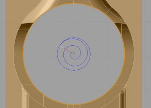 spiral toolpath