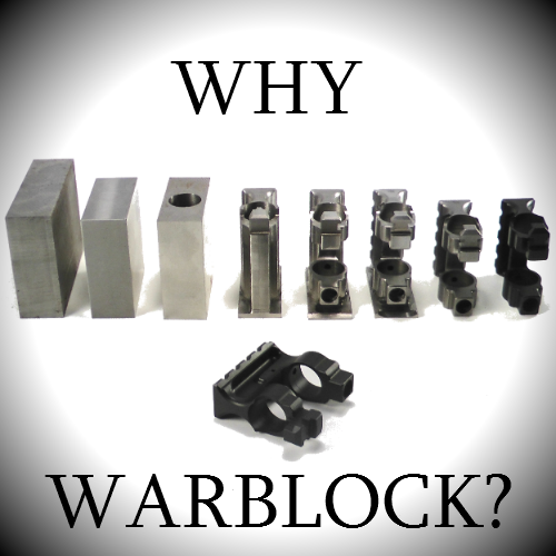 What is the WarBlock and why it is the best AR15 receiver level same place railed gas block