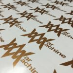 War machine logo sheet copper